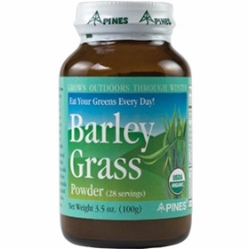 Pines International Barley Grass Powder - 3.5 Ounces