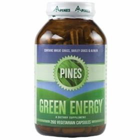 Green Energy by Pines Wheat Grass - 260 Capsules