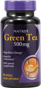 Green Tea 500mg by Natrol - 60 Capsules