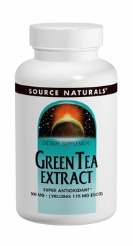 Source Naturals Green Tea Extract 500 mg - 120 Tablets