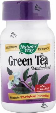Green Tea Standardized Extract by Nature's Way - 30 Capsules