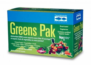 Greens Pak Berry by Trace Minerals Research - 30 Packets
