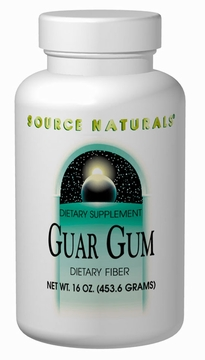 Source Naturals Guar Gum Dietary Fiber Powder - 16 Ounces