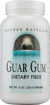 Source Naturals Guar Gum Dietary Fiber Powder - 8 Ounces