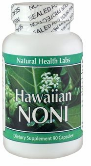 Hawaiian Noni Extract by Natural Health Labs - 90 Capsules