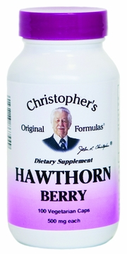 Hawthorn Berries by Dr. Christopher's - 100 Vegetarian Capsules