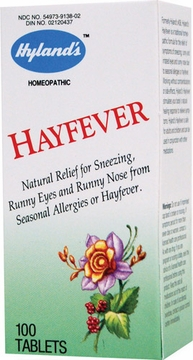 Hayfever by Hylands - 100 Tablets