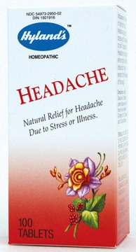 Headache by Hylands - 100 Tablets