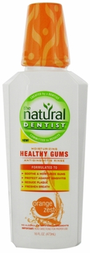 Healthy Gums Daily Oral Rinse Orange Zest by Natural Dentist - 16oz.