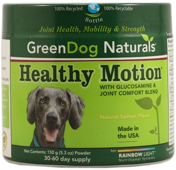 Rainbow Light Greendog Naturals Healthy Motion Powder - 150 Grams