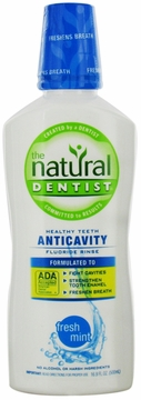 Healthy Teeth Anticavity Fluoride Rinse Fresh Mint by Natural Dentist - 16oz.