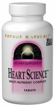 Source Naturals Heart Science Multi-Nutrient Complex - 60 Tablets