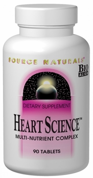 Source Naturals Heart Science Multi-Nutrient Complex - 90 Tablets
