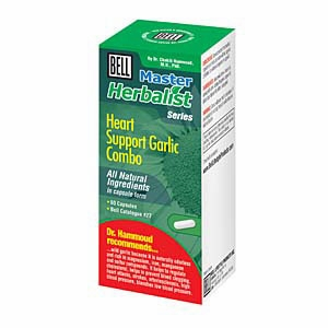 Heart Support Garlic Combo by Bell Lifestyle Products Inc. - 60 capsules