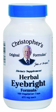 Herbal Calcium Formula by Dr. Christopher's - 100 Vegetarian Capsules