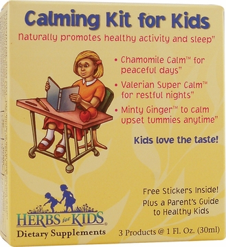 Herbs For Kids Calming Kit by Heritage Store - 3 Pieces