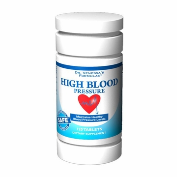 High Blood Pressure Support by Dr. Venessa's Formulas - 120 Tablets