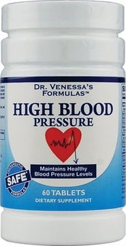 High Blood Pressure Support by Dr. Venessa's Formulas - 60 Tablets