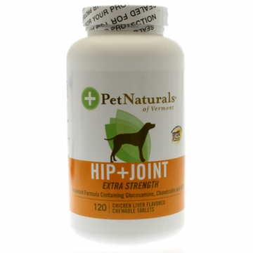 Pet Naturals of Vermont Hip + Joint Extra Strength - 120 Tablets