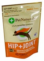 Pet Naturals of Vermont Hip + Joint for Cats - 45 Soft Chews