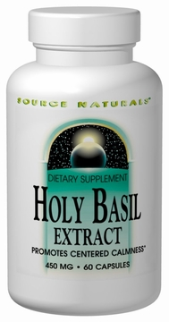 Source Naturals Holy Basil Extract 450 mg - 60 Capsules