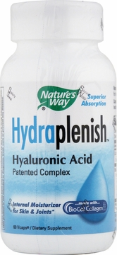 Hydraplenish Hyaluronic Acid by Nature's Way - 60 Vegetarian Capsules
