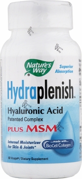 Hydraplenish Plus MSM by Nature's Way - 60 Vegetarian Capsules