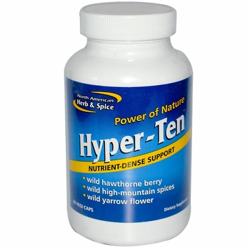 North American Herb & Spice Hyper-Ten - 90 Vegetarian Capsules