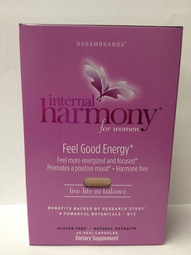 Internal Harmony for Women Feel Good Energy (Formerly Add Lib) by Oceanus Naturals - 60 Vegi Capsules