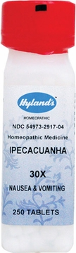 Ipecacuanha 30X by Hylands - 250 Tablets