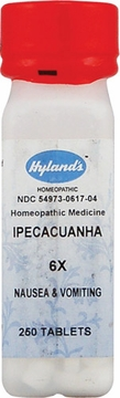Ipecacuanha 6X by Hylands - 250 Tablets