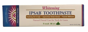 IPSAB Whitening Toothpaste Fresh Mint by Heritage Store - 4.23oz.