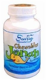 Jonah Sea Veg for Kids by FarmaSea Health - 45 Chewables