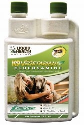 K9 Vegetarian Glucosamine (formerly K-9 Glucosamine & HA) by Liquid Health - 32 oz.