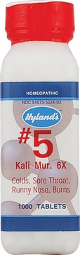 Kali Muriaticum 6X by Hylands - 1000 Tablets