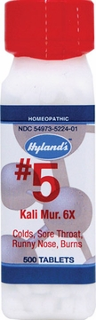 Kali Muriaticum 6X by Hylands - 500 Tablets