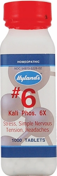 Kali Phosphoricum 6X by Hylands - 1000 Tablets