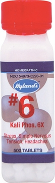 Kali Phosphoricum 6X by Hylands - 500 Tablets