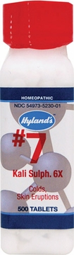 Kali Sulphuricum 6X by Hylands - 500 Tablets