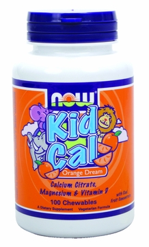 Now Foods Kid Cal - 100 Chewable Tablets