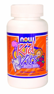 Now Foods Kid Vits Berry Blast - 120 Chewable Tablets