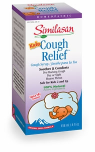 Similasan Kids Cough & Fever Relief Syrup - 4 Fluid Ounces