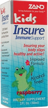 Zand Kids Insure Herbal Formula Raspberry Liquid - 1 Fluid Ounce