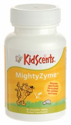 KidScents MightyZyme - 90 Chewable Tablets