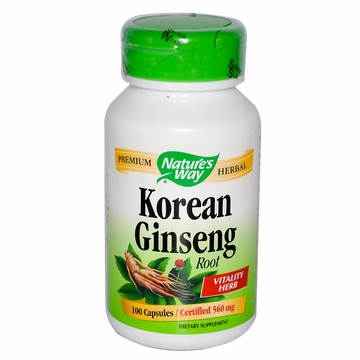 Korean Ginseng Root by Nature's Way - 100 Capsules