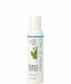 Kukui Moisturizing Lotion (Scented) w/Pacific Mist Fragrance  by Oils of Aloha - 16oz.