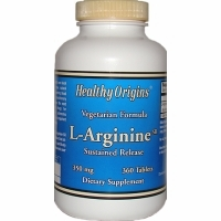 L-Arginine 350mg by Healthy Origins - 360 Tablets