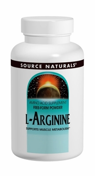 Source Naturals L-Arginine 500 mg - 100 Tablets