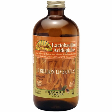 Lactobacillus Acidophilus Liquid in Papaya Flavor by Dynamic Health Laboratories - 16 oz