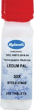 Ledum Palustre 30X by Hylands - 250 Tablets